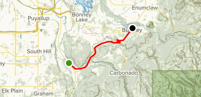Foothills Trail: Orting to Buckley - Washington | AllTrails