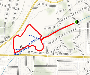 Gulley Park Map