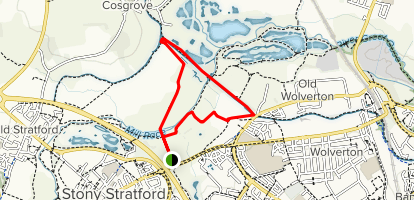 Wolverton Mill Circular Map