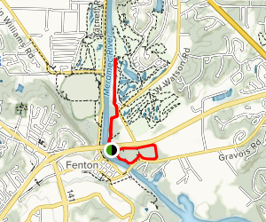 Upper Trail and Lower Loop Map