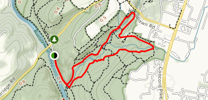 Rocky Run Loop Map