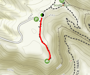 South Overlook Trail Map