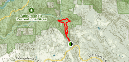 American Canyon to Wendell T Robie Loop Map