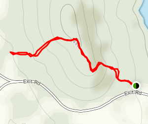 Knob Top Trail Map