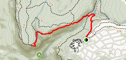 Signal Point Trail Map