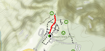 Desert View Visitor Center Trail Map