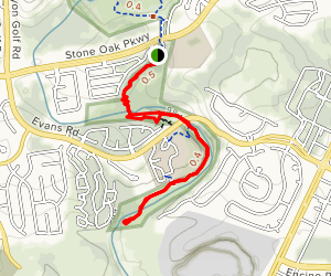South Trail Loop Map