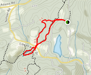 Headwaters Park to Quarry Park Loop Map