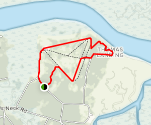 Harris Neck Airport Trail  Map