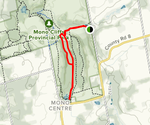 Carriage Trail, Spillway Trail, and Walter Tovell Trail Loop Map