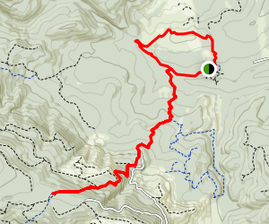 Gales Creek to Triple C Loop Map
