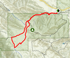 Miwok Trail and Murphy Meadow Trail Map