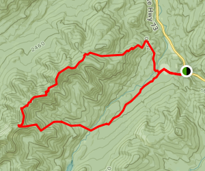 W.A. White to Beaver Meadow Loop [PRIVATE PROPERTY] Map