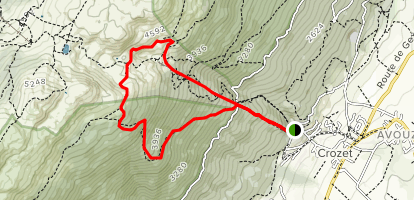 Under the Gondola and Top of the Mountain Loop Map