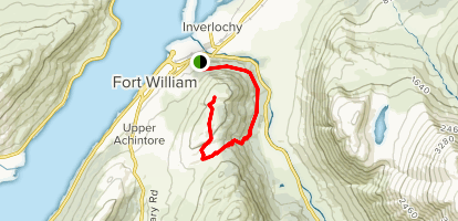 Cow Hill  Map