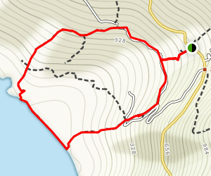 Andros, Paleopoli Circuit 6 and Andros Route 9a Map