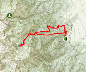 Lake of the Clouds Loop Map