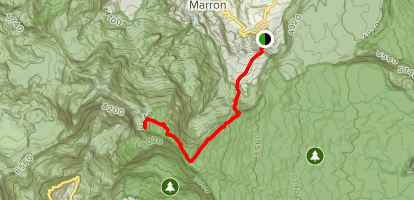 Piton des Neiges via Hell-Bourg Map