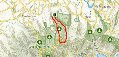 Mount Vernon Farm and Valley Track Loop  Map