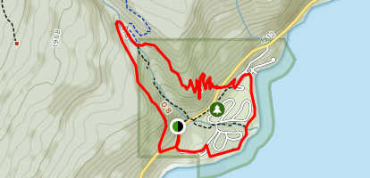 Margaret Falls Upper Loop Map