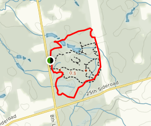 Bear Creek, Maple Valley and White Pine Trail Loop Map
