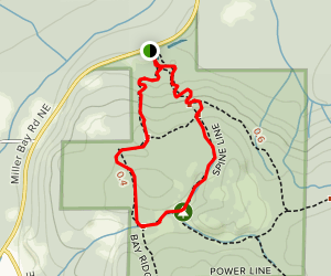 Spine Line and Boundary Trails Loop Map