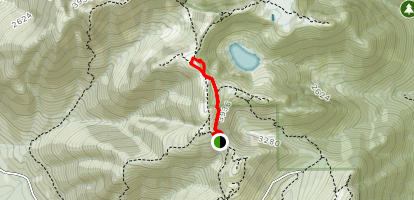 Little Goat Mountain via Alpine Trail Map