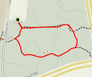 Warwick Bushland Loop Trail Map