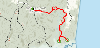 Horse Swamp Trail Map