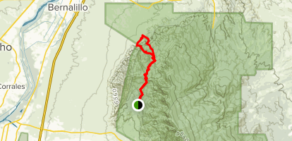 Pedra Lisa Trail to Del Aqua Trail Loop  Map