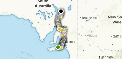 The Heysen Trail (Complete) Map
