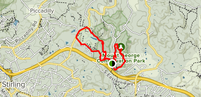 Mount George Walk Map