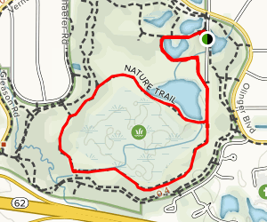 Little Loop Nature Trail  Map
