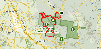 Koala Bushland Coordinated Conservation Area Loop Map