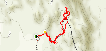 Lower Tower Arch Trail Map