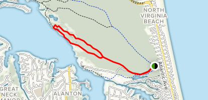 White Hill Loop Map