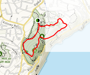 Dalkey and Killiney Hill Loop  Map