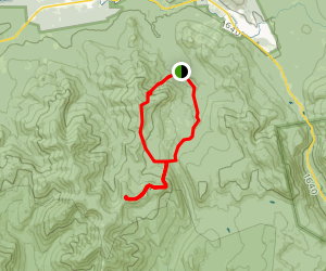 Mount Hale and Mount Zealand Loop via Hale Brook to Zealand Trail Map