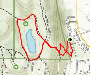 Kathleen Lake Loop Trail Map