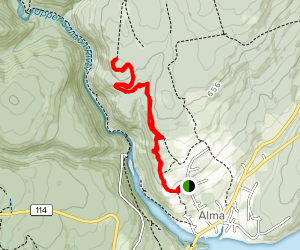 Greensnake Trails Map