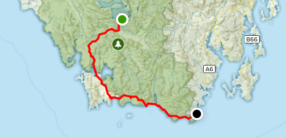 Port Davey and South Coast Tracks (North to South) Map