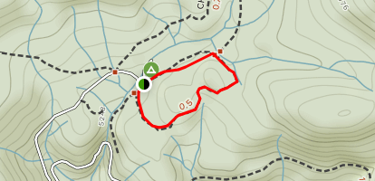 Bull Buck Loop Map