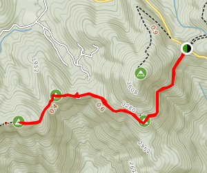 Ramrock Mountain via Appalachian Trail Map
