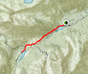 Crater Lake Trail Map