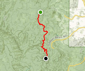 Prescott Circle Trail: Segment 03 Map