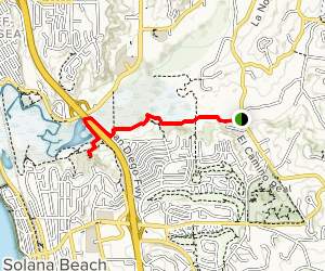 Annie's Canyon via La Orilla Trail Map