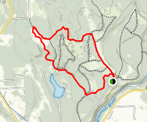 Victoria, Armstrong, & Pilchuck Trails Map