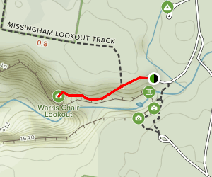 Warris Chair Lookout Map