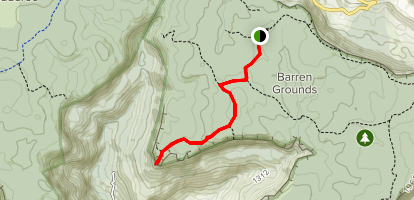 Cook's Nose Map