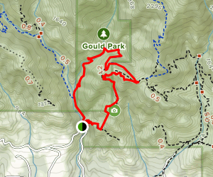 Cold Spring Trail [CLOSED] Map